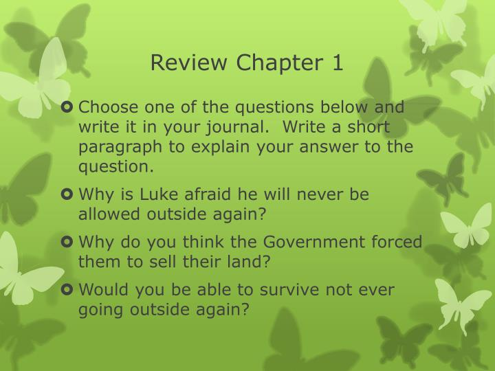 review chapter 1 n.