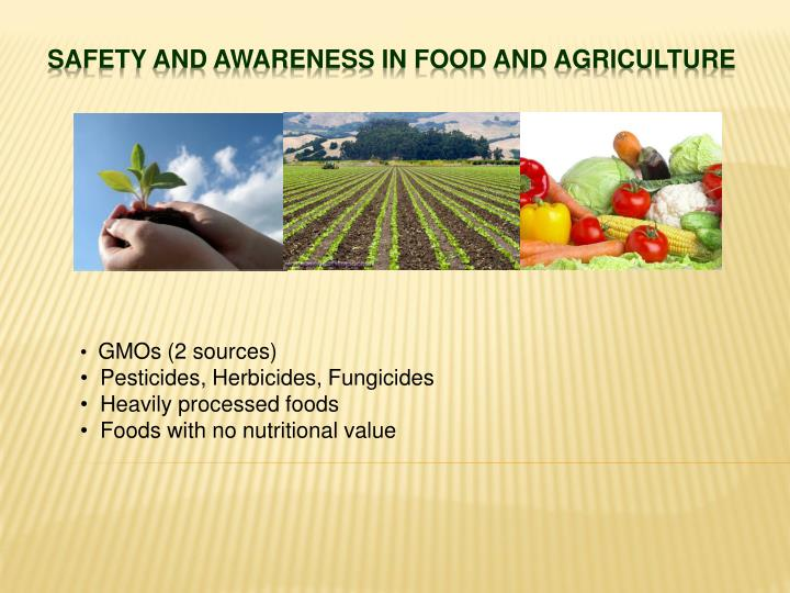 safety and awareness in food and agriculture n.