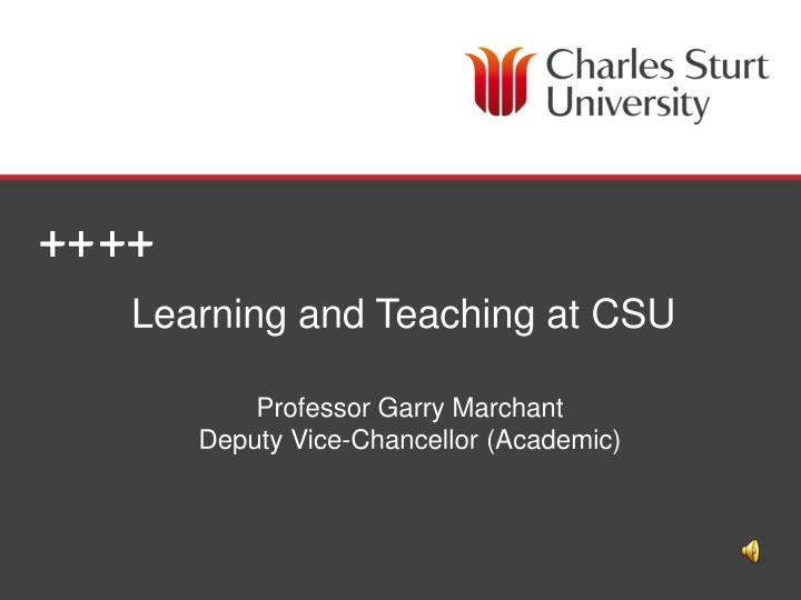 learning and teaching at csu n.