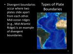 types of plate boundaries1