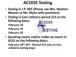 access testing1