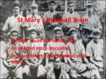 st mary s baseball team