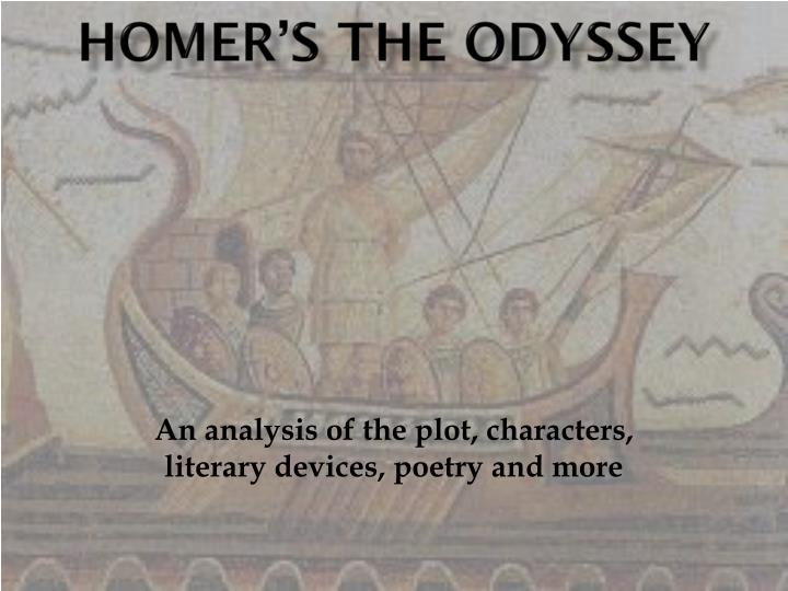 a literary analysis of tiresias in the odyssey by homer Need help with book 11 in homer's the odyssey the odyssey book 11 summary & analysis from litcharts finally tiresias appeared.