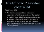 histrionic disorder continued1