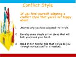 conflict style1