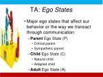 ta ego states