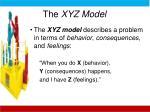 the xyz model