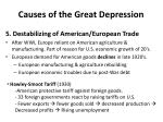 causes of the great depression4