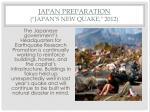 japan preparation japan s new quake 2012