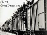 ch 21 great depression