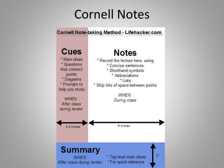 cornell notes n.