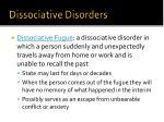 dissociative disorders1
