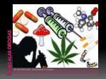 di no alas drogas