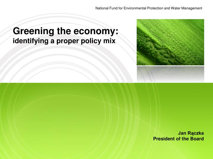 national fund for environmental protection and water management n.