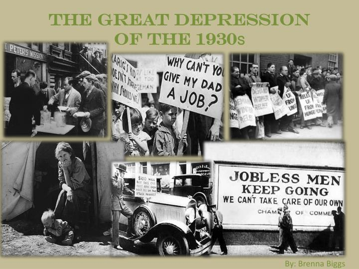 the great depression of the 1930 s n.