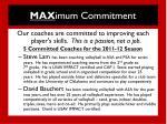 max imum commitment1