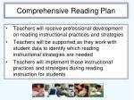 comprehensive reading plan