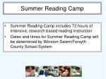summer reading camp1