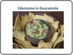 edamame in guacamole