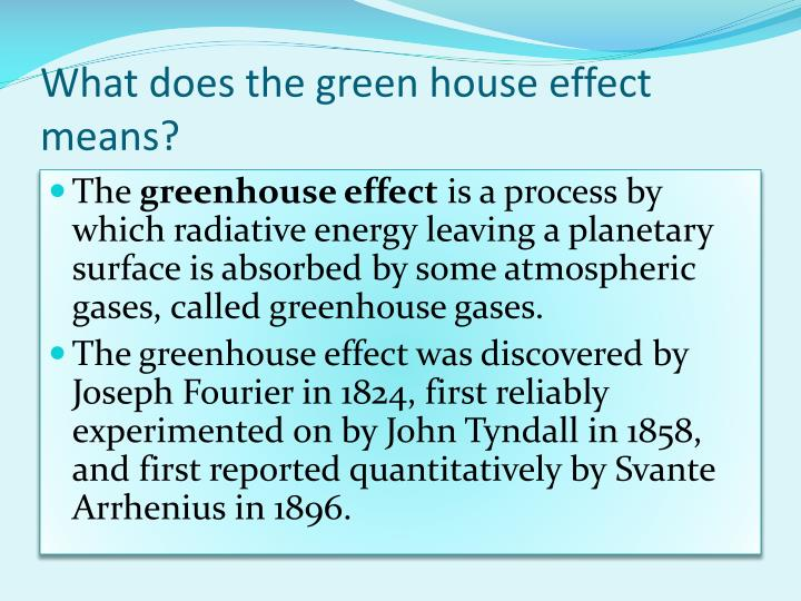 Ppt Greenhouses And And The Green House Effects Powerpoint