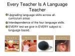every teacher is a language teacher