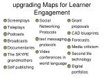 upgrading maps for learner engagement