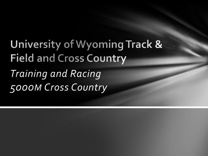 university of wyoming track field and cross country n.