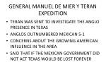 general manuel de mier y teran expedition