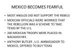 mexico becomes fearful