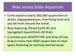 new jersey state aquarium