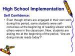 high school implementation3