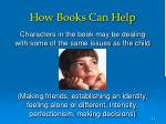how books can help