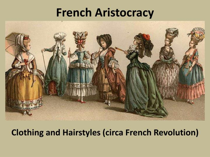 french aristocracy n.