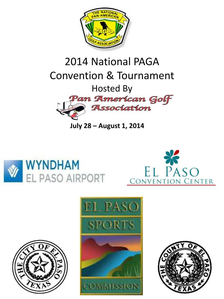 2014 national paga convention tournament hosted by n.