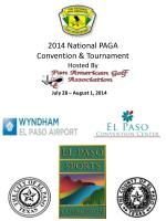 2014 national paga convention tournament hosted by