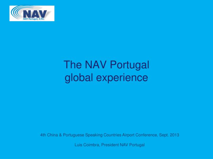 the nav portugal global experience n.