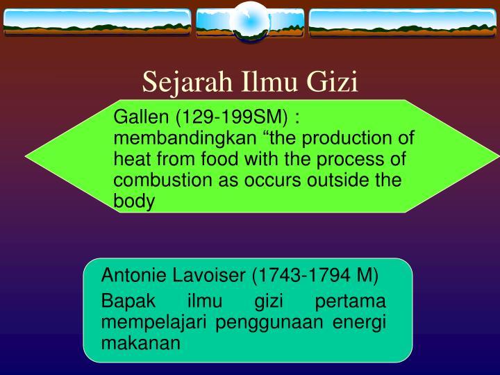 Sejarah ilmu gizi1