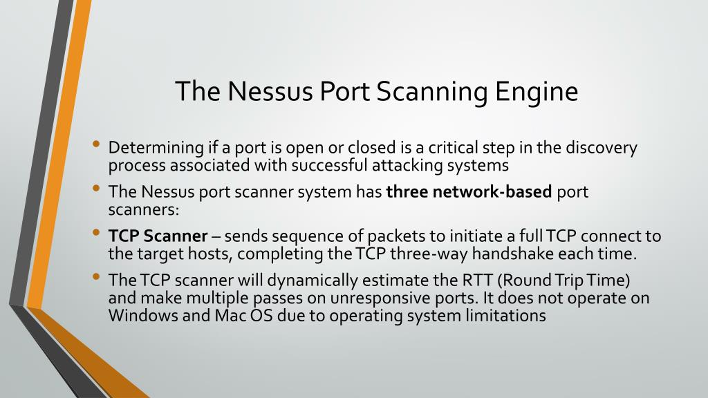 PPT - Nessus Vulnerability Scanner PowerPoint Presentation - ID:2118527