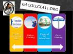 gacollge411 org