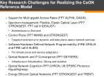 key research challenges for realizing the caon reference model