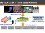 the caon vision of future optical networks
