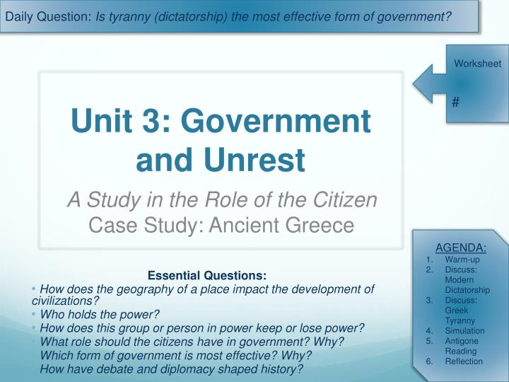 unit 3 government and unrest n.
