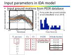 input parameters in ida model1