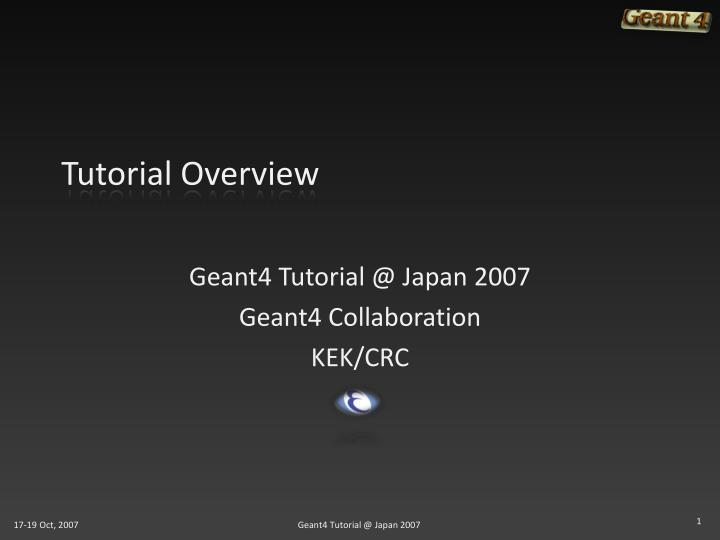 tutorial overview n.