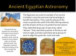 ancient egyptian astronomy
