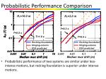 probabilistic performance comparison