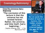 cosmology astronomy