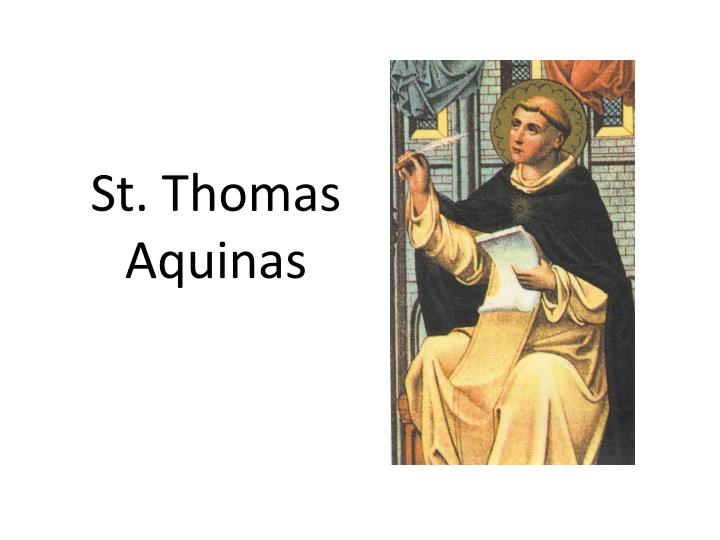 an overview of st thomas aquinas See what employees say it's like to work at st thomas aquinas catholic church salaries, reviews, and more - all posted by employees working at st thomas aquinas catholic church.