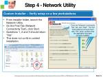 tdc step 5 confirm readiness