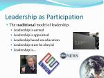 leadership as participation2